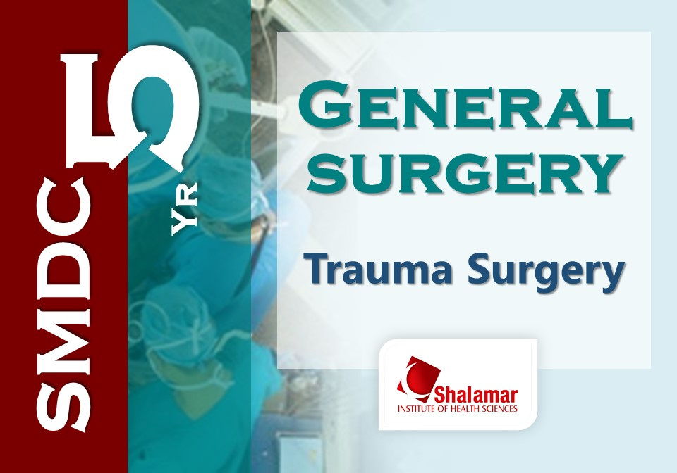 Trauma Surgery: Clinical Application