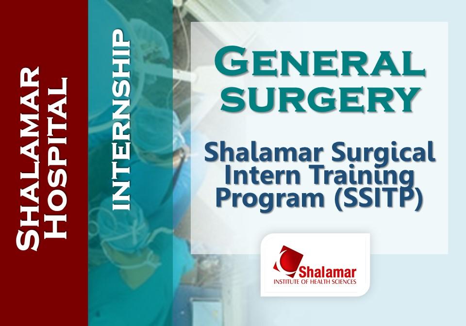 Shalamar Surgical Intern Training Program (SSITP)