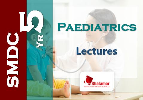 Final Year Paediatrics - 2021