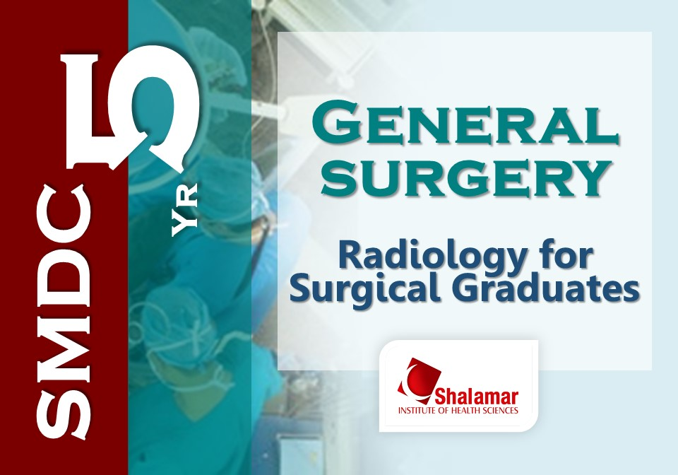Radiology for Surgical Graduates