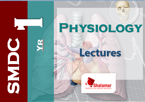 First Year Physiology Learning Resources