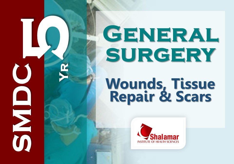 Wounds, Tissues Repair & Scars-2021