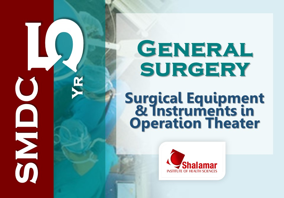 Operation Theater Equipment & Instruments-2021