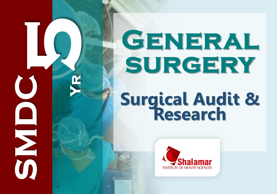 Surgical Audit & Research-2021
