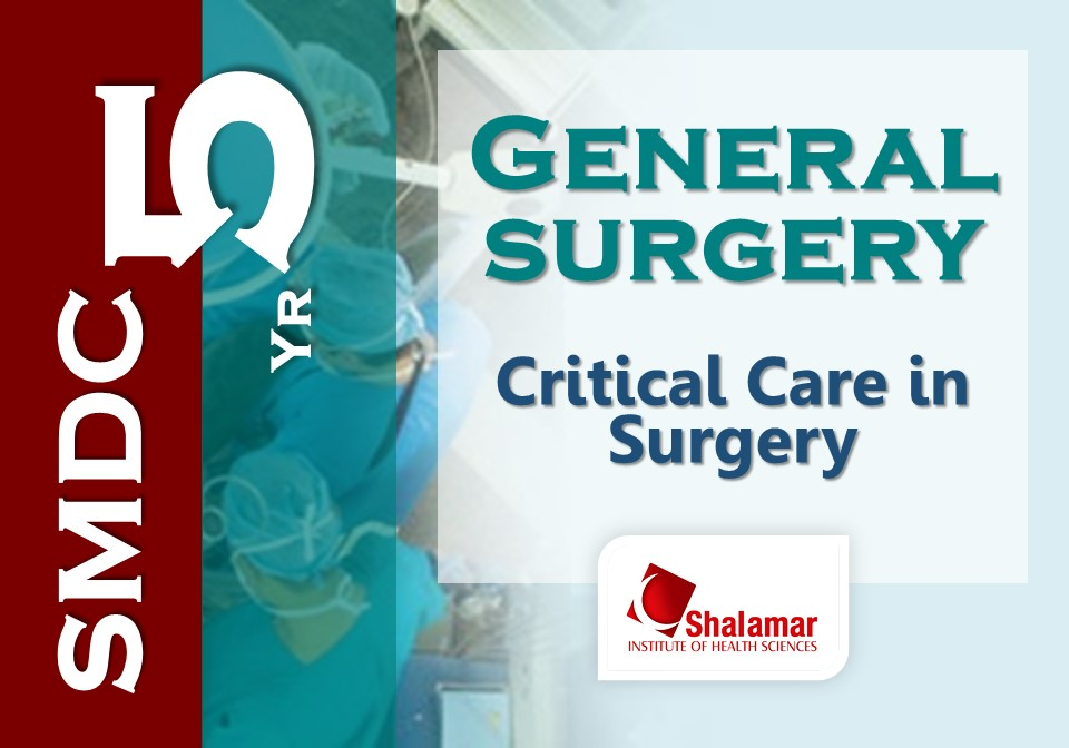 Critical Care in Surgery-2021