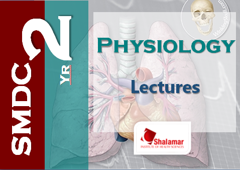 2nd Yr Physiology Learning Resources