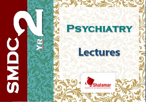 2nd Year Psychiatry