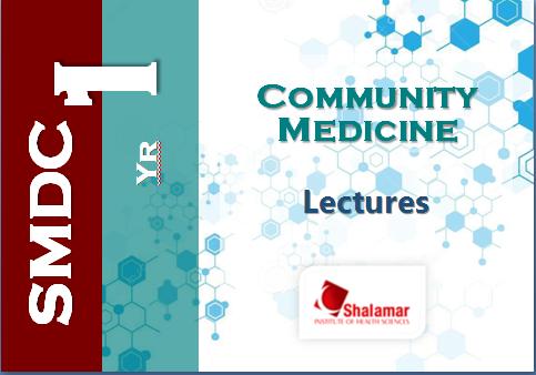 First Year Community Medicine